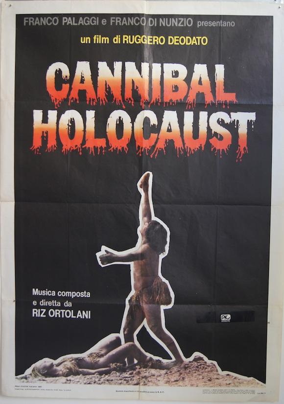 CANNIBAL HOLOCAUST Italian due foglie 1979 Ruggero Deodato