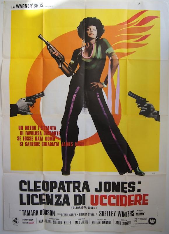CLEOPATRA JONES Italian quattro foglie 1973 Tamara Dobson