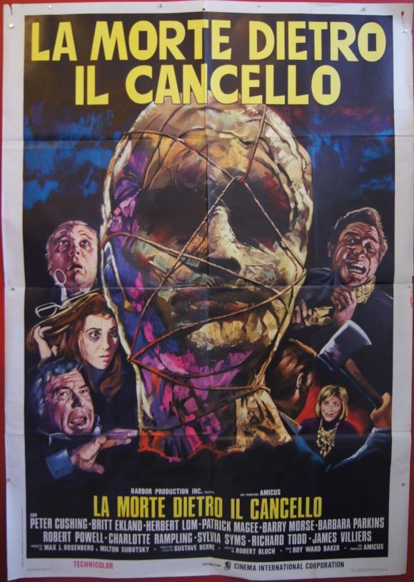 ASYLUM Italian quattro foglie Peter Cushing Britt Ekland AMICUS horror