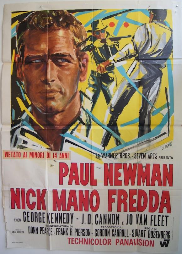 COOL HAND LUKE Italian quattro foglie 1967 Paul Newman