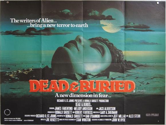DEAD & BURIED British quad 1981 James Farentino