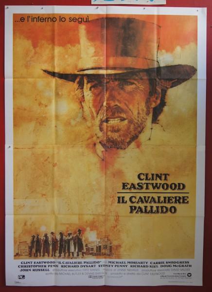 pale rider original italian movie poster clint eastwood