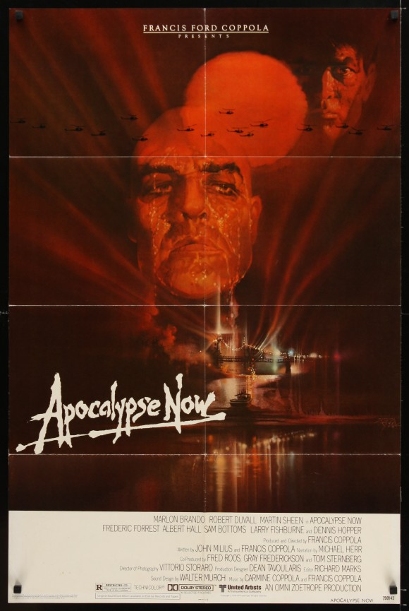 APOCALYPSE NOW original movie poster 1979 Marlon Brando