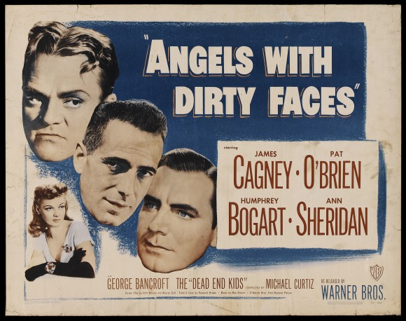 ANGELS WITH DIRTY FACES original movie poster HUMPHREY BOGART JAMES CAGNEY