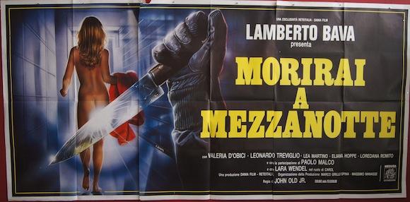 MIDNIGHT KILLER ITALIAN SIX PANEL by ENZO SCIOTTI