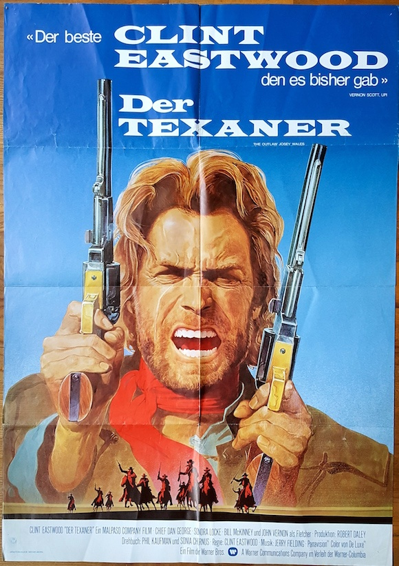 Outlaw josey wales movie poster