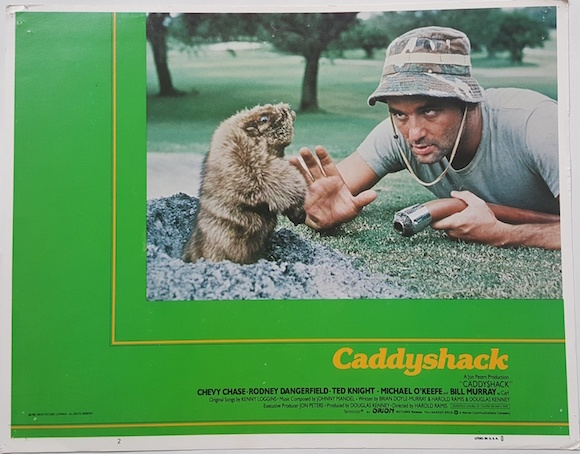 CADDYSHACK COMPLETE LOBBY CARD SET 1980 CHEVY CHASE BILL MURRAY