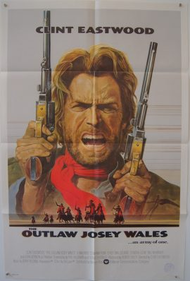 Clint Eastwood in Outlaw Josey Wales, original poster MOVIE★INK. AMSTERDAM