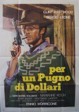 Clint Eastwood in FISTFUL OF DOLLARS aka PER UN PUGNO DI DOLLARI MOVIE★INK. AMSTERDAM