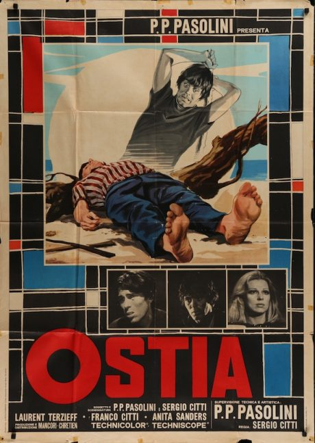 OSTIA Italian poster