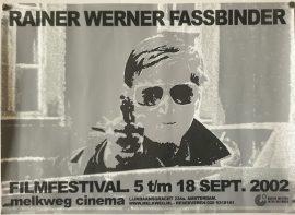 RAINER WERNER FASSBINDER FILMFESTIVAL Dutch poster