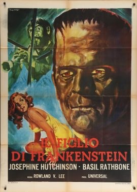 SON OF FRANKENSTEIN Italian poster
