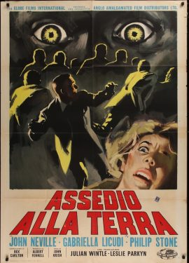 UNEARTHLY STRANGER Italian poster