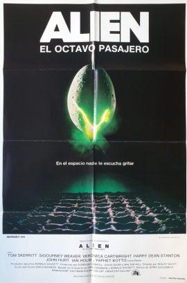ALIEN Argentinean poster