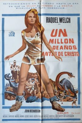 ONE MILLION YEARS BC Argentinean poster