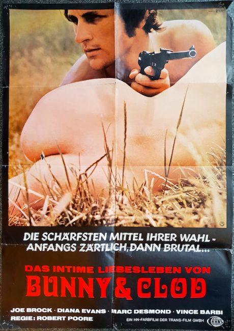 BUNNY AND CLOD German poster