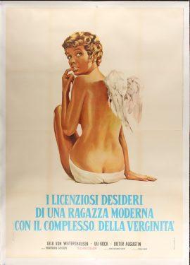 ENGELCHEN - ODER DIE JUNGFRAU VON BAMBERG Italian poster