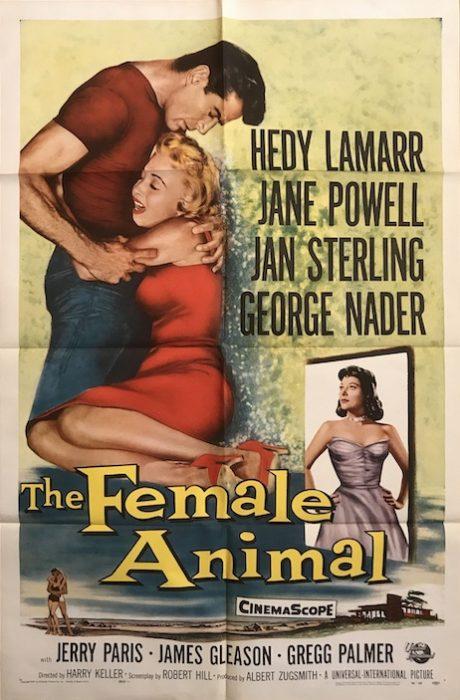 FEMALE ANIMAL US one sheet