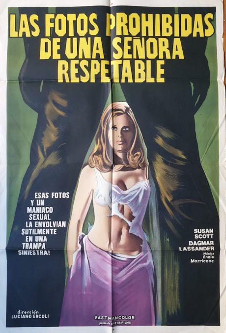 FOTO PROIBITE DI UNA SIGNORA PER BENE Argentinean poster