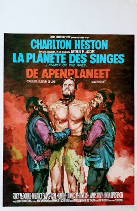 PLANET OF THE APES Belgian poster