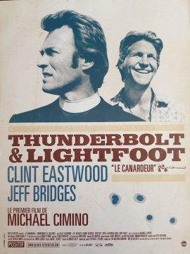 THUNDERBOLT & LIGHTFOOT 2011 French poster