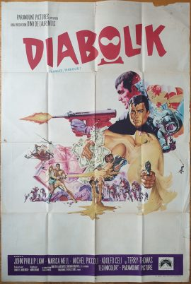 DANGER DIABOLIK Argentinean movie poster