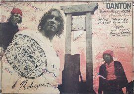 DANTON Polish poster