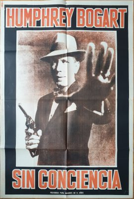 ENFORCER Argentinean movie poster