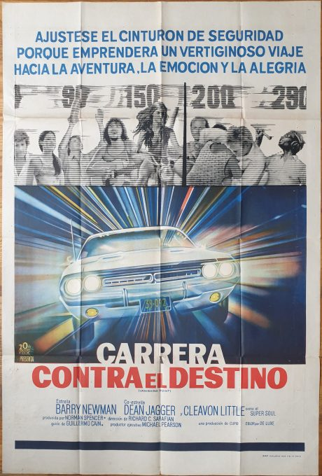 VANISHING POINT Argentinean movie poster