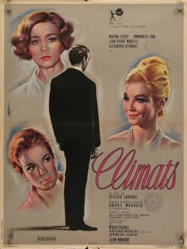 CLIMATS French poster