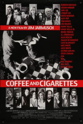 COFFEE AND CIGARETTES US onesheet poster