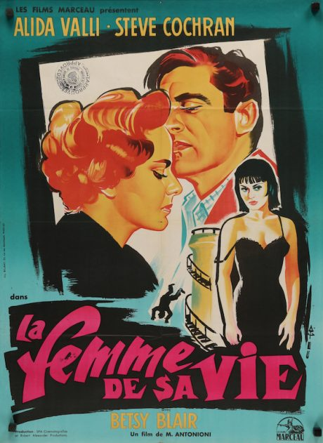 IL GRIDO French poster
