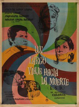 LARGO VIAJE HACIS LA MUERTE Mexican poster