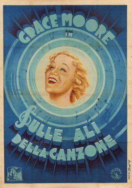 LOVE ME FOREVER Italian due foglie poster