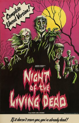 "NIGHT OF THE LIVING DEAD specialty poster (11x17"")"
