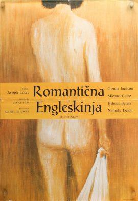 ROMANTIC ENGLISHWOMAN Yugoslav poster