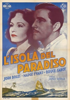SINNERS IN PARADISE Italian foglio poster