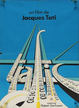 "TRAFFIC French poster (23x32"")"