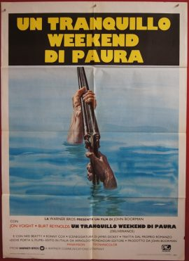 DELIVERANCE, vintage Italian movie poster, MOVIE★INK. AMSTERDAM