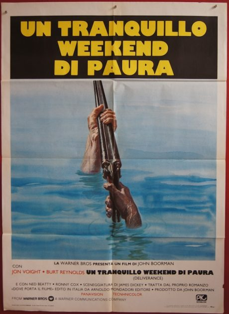DELIVERANCE, vintage Italian movie poster, MOVIE★INK. AMSTERDAM