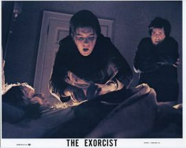 Exorcist mini lobby card
