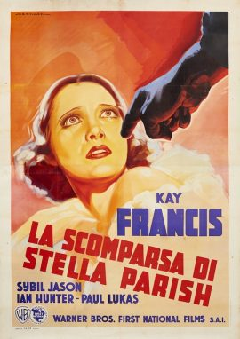 I FOUND STELLA PARISH Italian poster (200x140cm) 1936 MOVIE★INK. AMSTERDAM