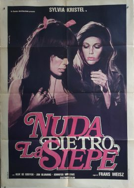 NAAKT OVER DE SCHUTTING Italian due foglie movie poster MOVIE★INK. AMSTERDAM