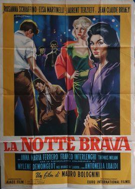 ON ANY STREET Italian movie poster MOVIE★INK. AMSTERDAM