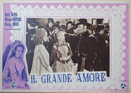 Bette Davis poster OLD ACQUAINTANCE MOVIE★INK. AMSTERDAM