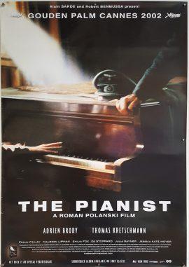 PIANIST PIANIST Roman Polanski Dutch movie poster MOVIE★INK. AMSTERDAM