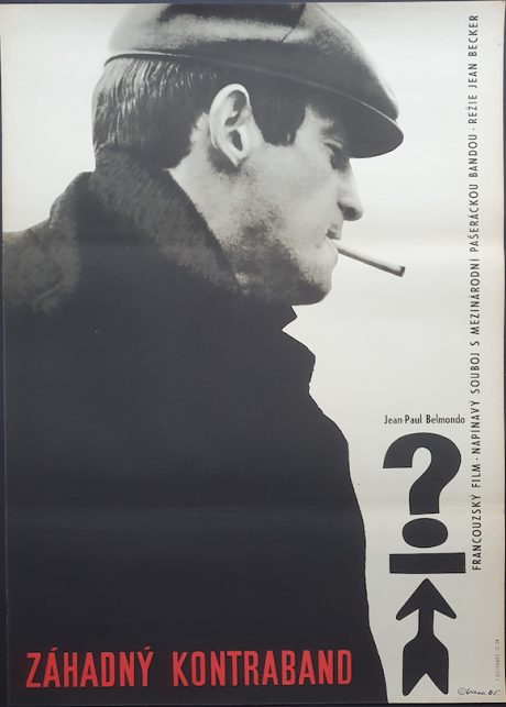 Jean-Paul Belmondo Échappement libre Czech poster MOVIE★INK. AMSTERDAM