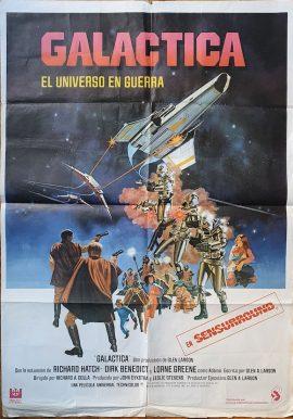 Battlestar Galactica Spanish poster MOVIE INK. AMSTERDAM