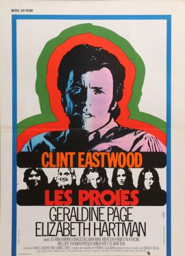 Clint Eastwood BEGUILED French poster MOVIE★INK. AMSTERDAM
