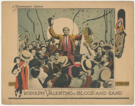 Rudolph Valentino BLOOD AND SAND lobby card MOVIE★INK. AMSTERDAM